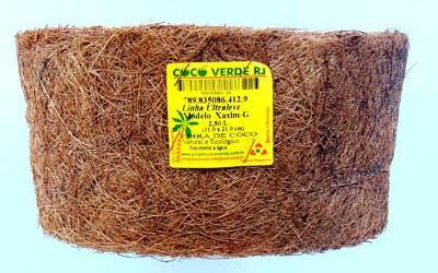 vaso de fibra de coco verde reciclado007Modelo Xaxim 2,50 L 023